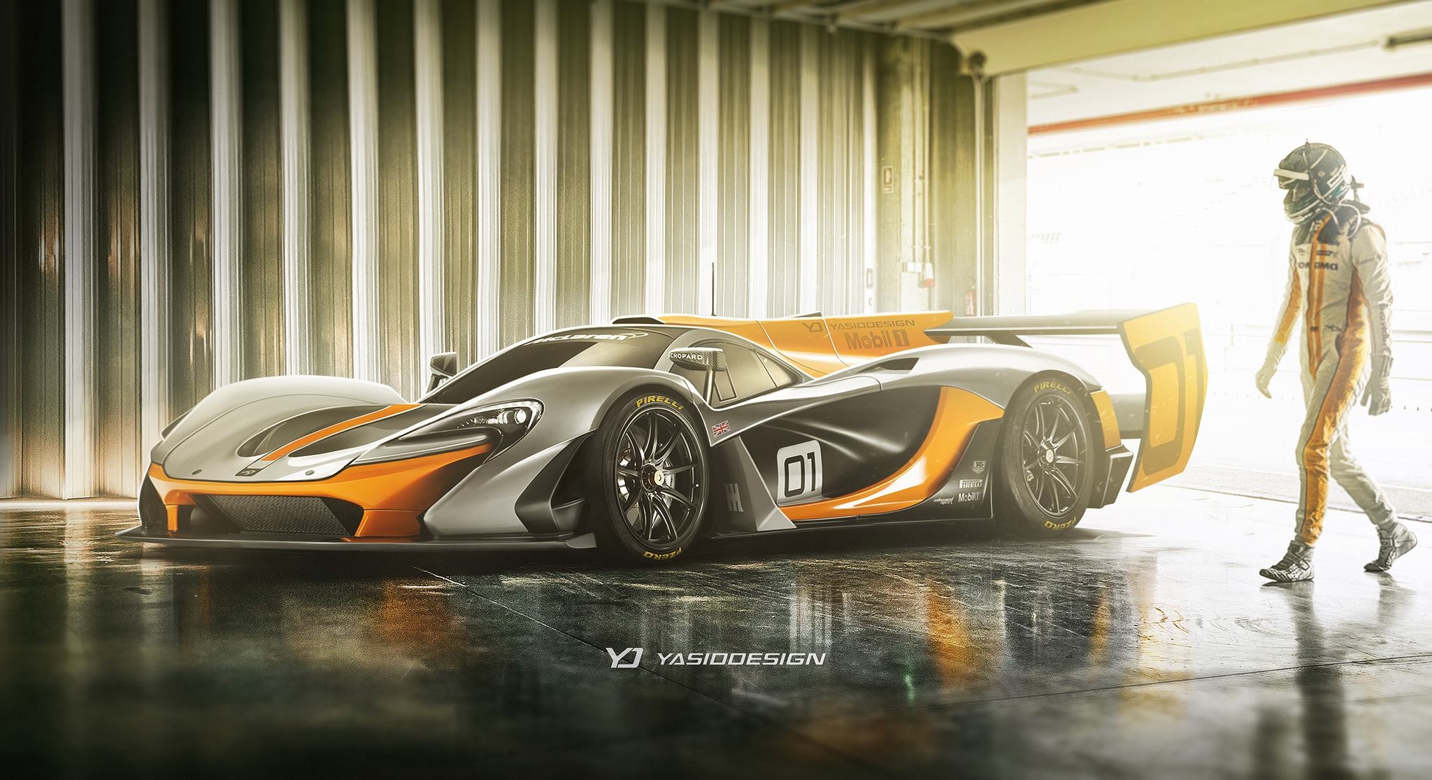 1000 Hp Gtr >> McLaren P1 GTR Becomes LMP1 Le Mans Prototype Racer in Mind-Blowing Rendering - autoevolution