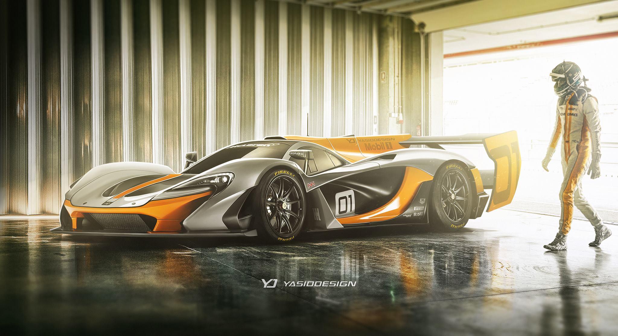 Mclaren P1 Gtr Becomes Lmp1 Le Mans Prototype Racer In