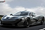 McLaren P1 in Full Bare Carbon: Virtual Tuning