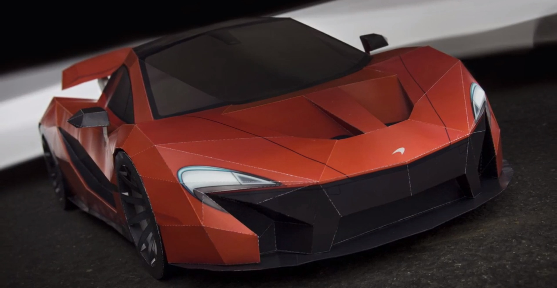 McLaren P1 Made from Paper Is an Amazing Build - autoevolution