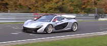 McLaren P1 Setting New Nurburgring Record [Video]