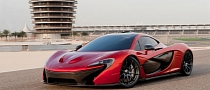 McLaren P1 Showcased in Bahrain