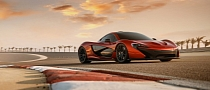 McLaren P1 Shows Off in Bahrain [Photo Gallery]