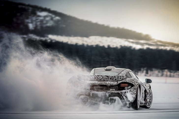 McLaren P1 Tested to Extremes... On Ice [Video][Photo Gallery]