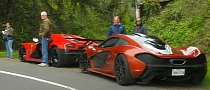 McLaren P1, Veyron, Agera R, Lamborghini Sesto Elmento Spotted on Set of NFS Movie