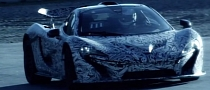 McLaren Shows Production P1 During Track Testing [Video]