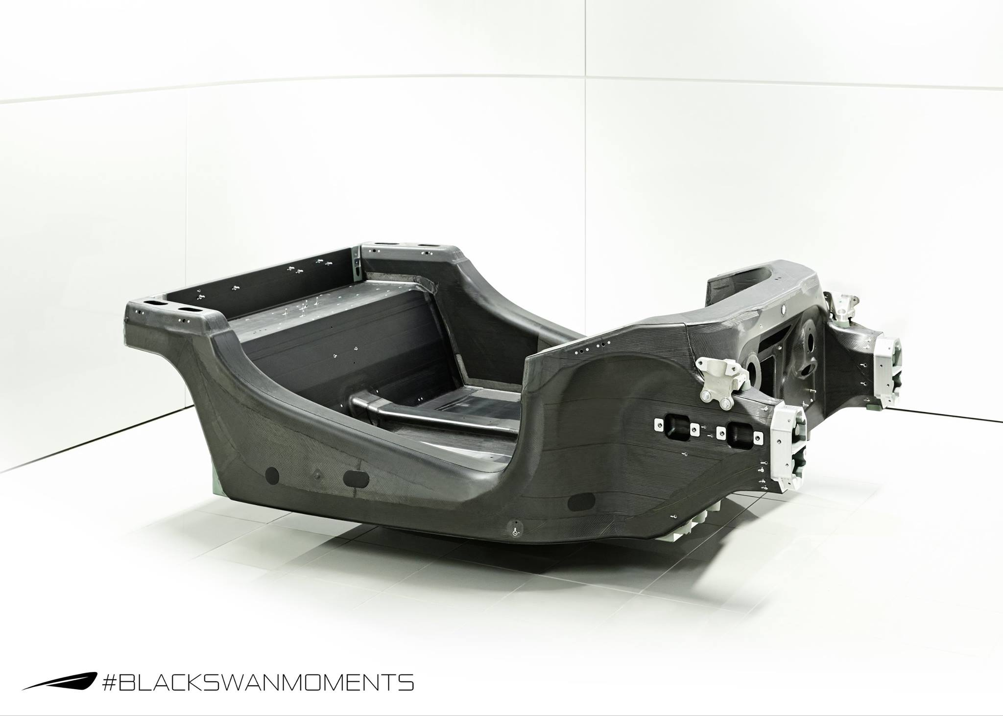 Mclaren Reveals Sports Series Carbon Fiber Monocoque Tub