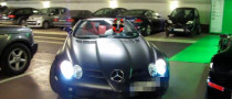 McLaren SLR Roadster Hits 150 km/h in Underground Parking [Video]