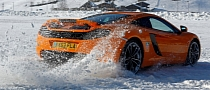 McLaren Ice Driving School: MP4-12C Drifting [Photo Gallery]