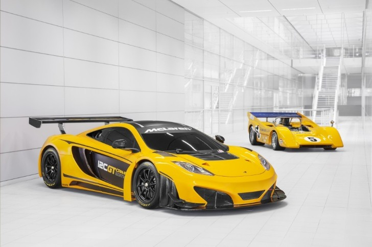 McLaren to Showcase 12C GT Can-Am Edition at Goodwood [Video]