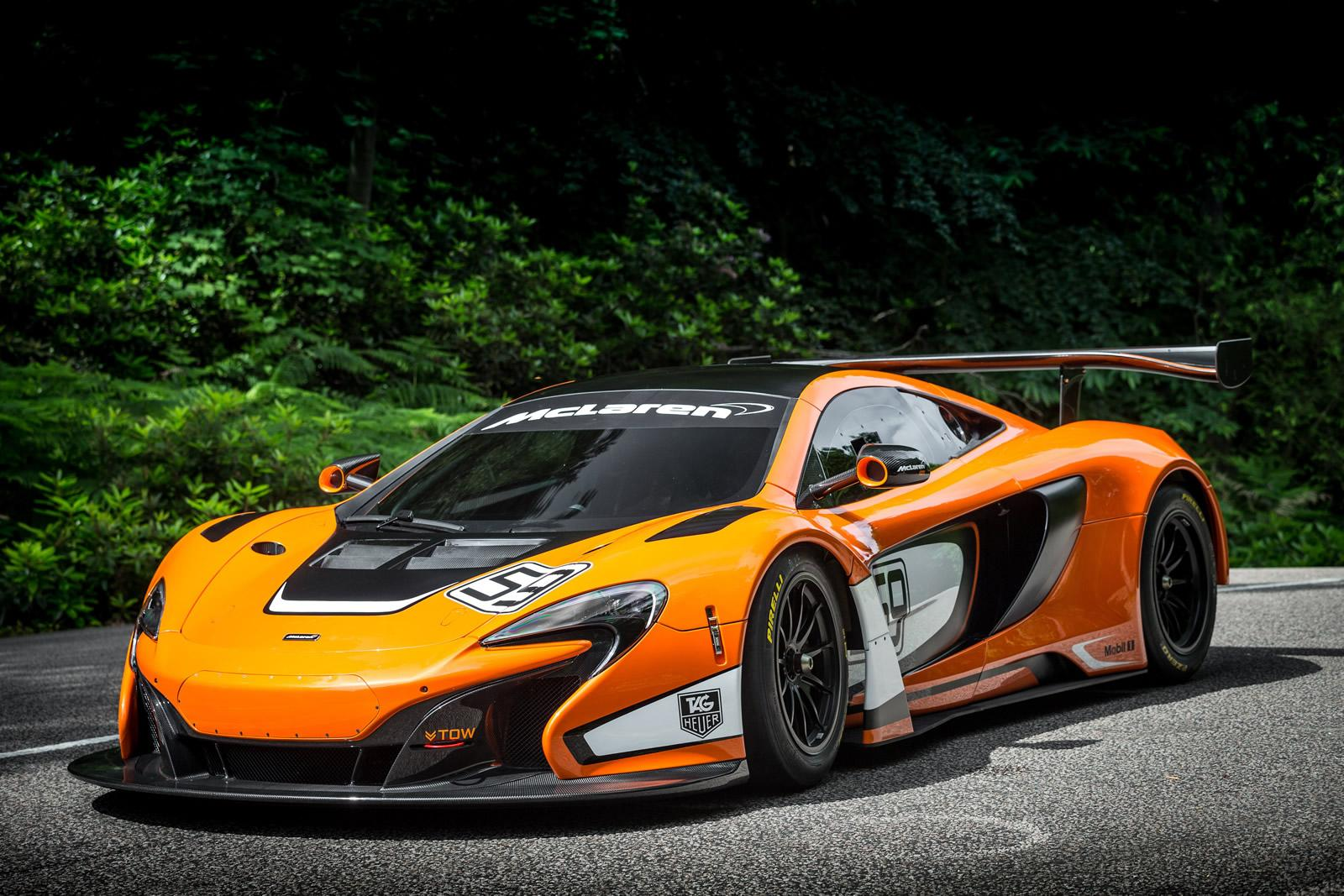 McLaren Unveils 650S GT3 Race Car at the Goodwood Fos - autoevolution