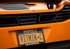 McLaren's Engineering Secret Revealed by Vanity Plate [LOL]