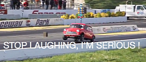Mean Little Mini Cooper Does a Wheelie [Video]
