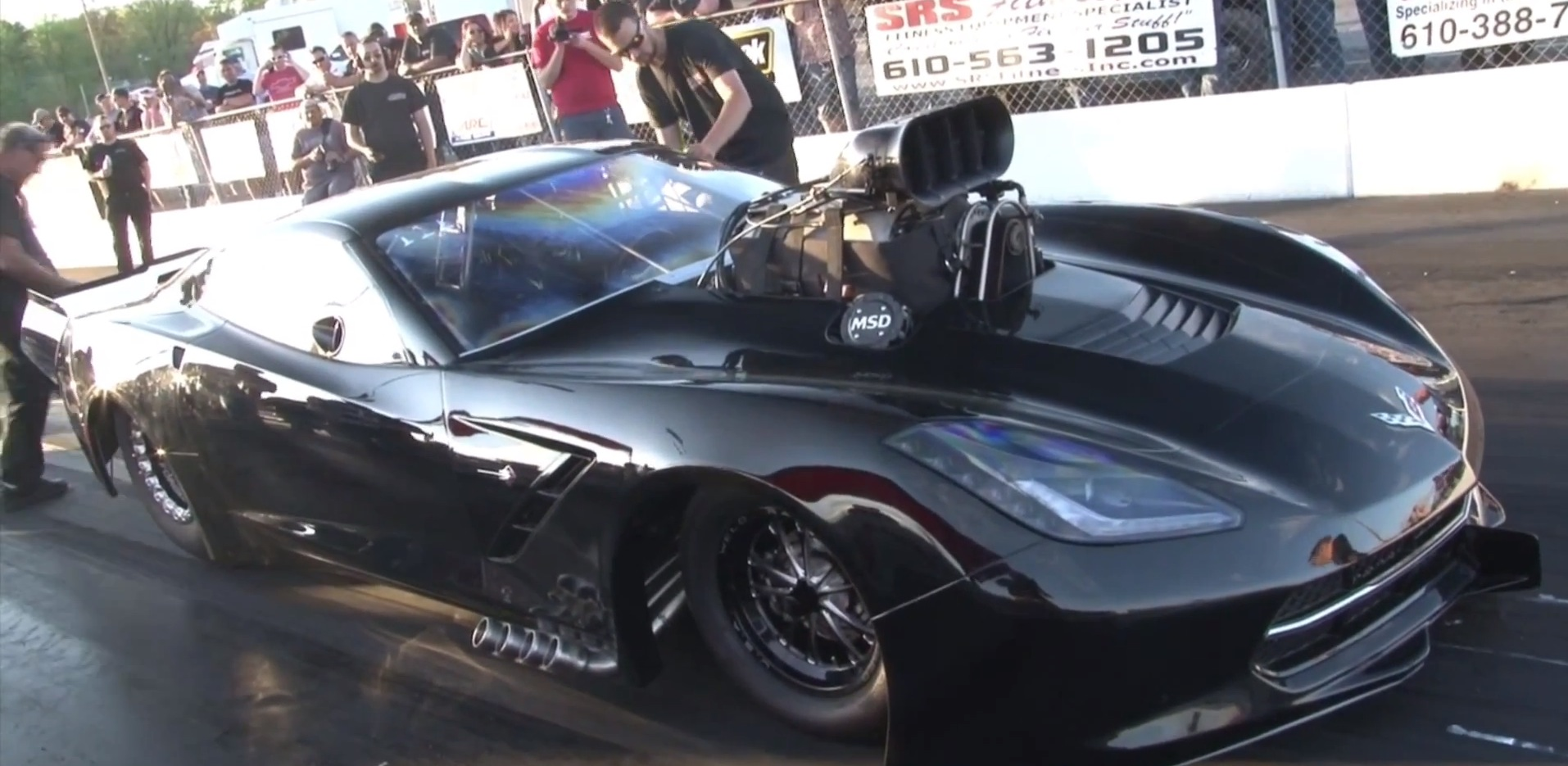 Meanest C7 Corvette You've Ever Seen Is a 3,500 HP Outlaw Racer ...