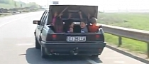Meanwhile in Romania: Four Kids in the Trunk of a Car [Video]