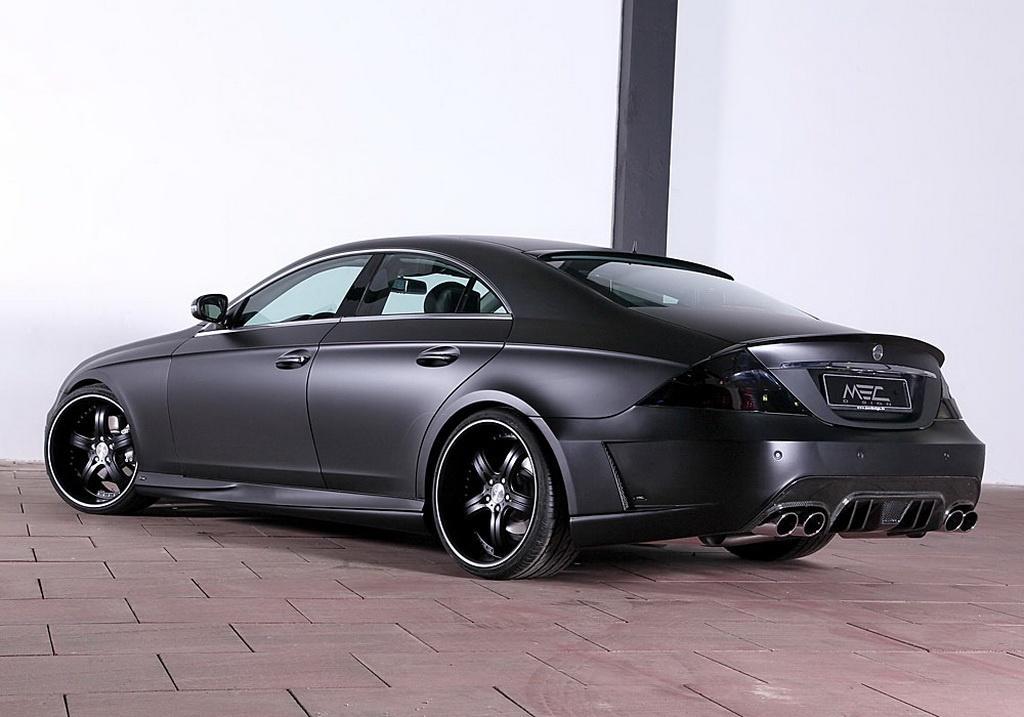 Mec design mercedes cls 500 w219 is evil black autoevolution for 2009 mercedes benz cls 500