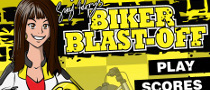 Mediatonic iPhone Game Biker Blast-Off Scores High