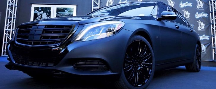 Meek Mill Likes His Mercedes Maybach S600 Matte Black