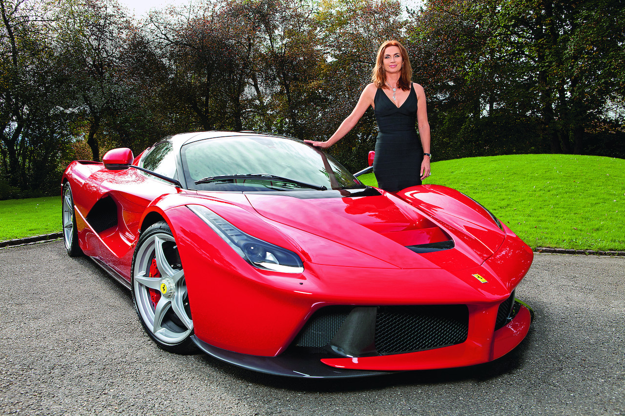 meet cornelia hagmann one of the 499 laferrari owners   autoevolution