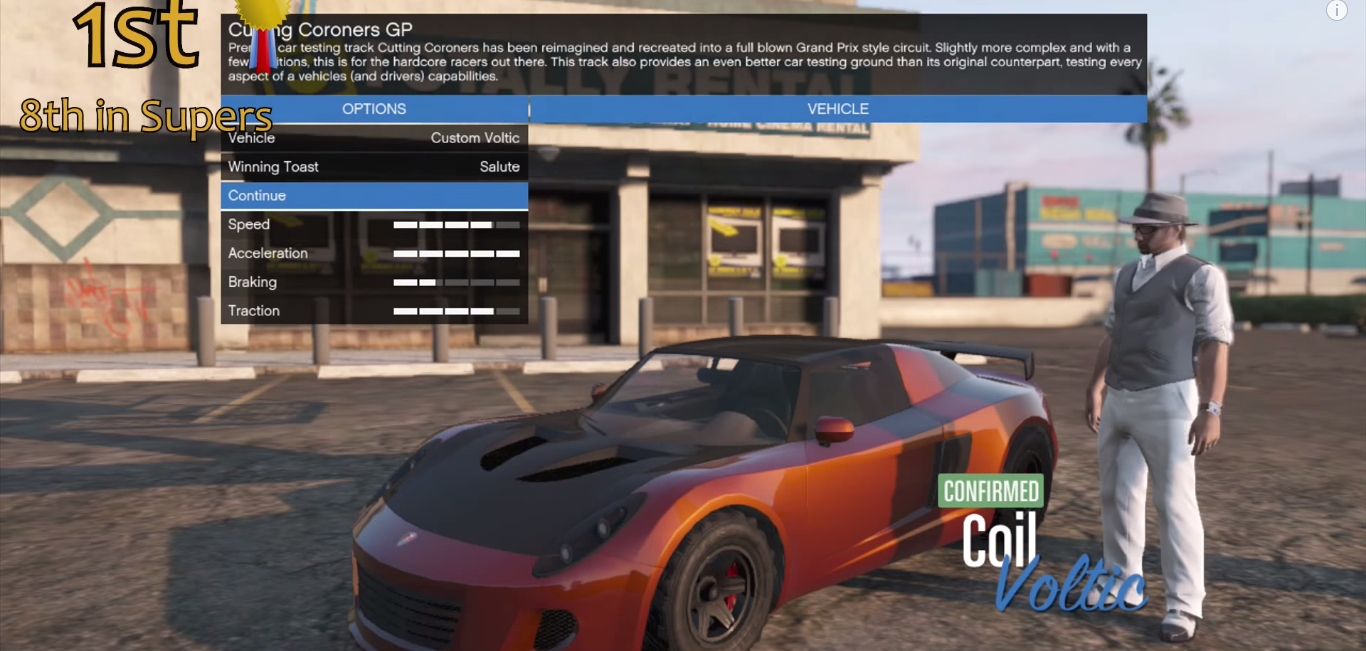 Meet the Electric Cars You Can Drive in Grand Theft Auto 5