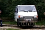 Ford Tansit Van Runs on Rails in Romania [Video]