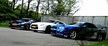 Meet the Tuning Parents: R34 and Two R35 Nissan GT-Rs [Video]