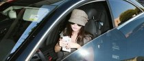 Megan Fox Gets a Parking Ticket in LA