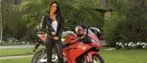Megan Fox Motorcycle Leather Suit Up for Grabs