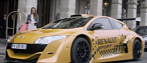 Megane Trophy V6 Becomes Coolest Taxi Ever [Video]