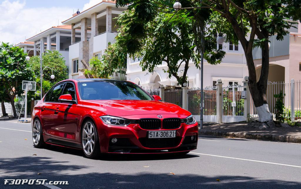 Melbourne Red BMW I From Vietnam Is A Thing Of Passion - Bmw 328i red