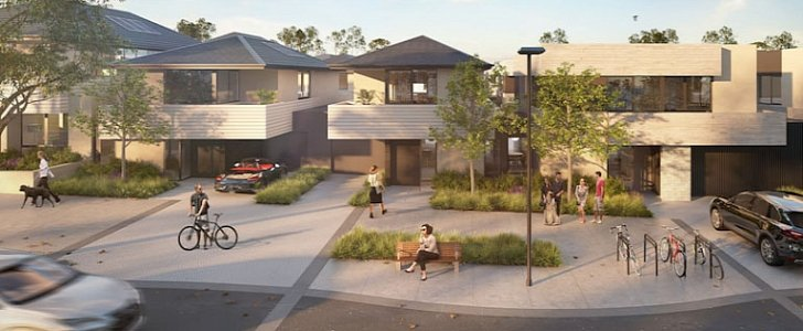 "Melbourne's ""Tesla Town"" Project Is a Glimpse into Our Residential Future"