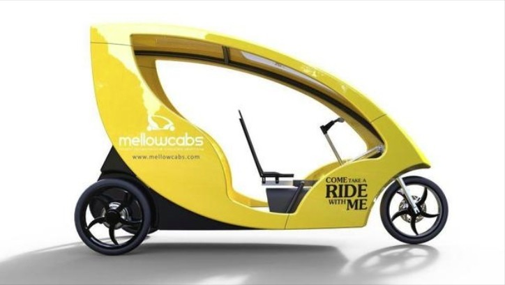 Mellowcab Is The Electric Rickshaw Of The Future