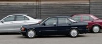 Mercedes 190 D BlueEFFICIENCY, Baby-Benz with a Bang