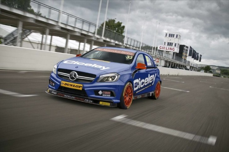 Mercedes A-Class Goes BTCC Racing in 2014