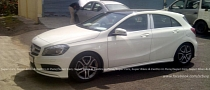 Mercedes A-Class Spotted Testing in India Ahead of Launch