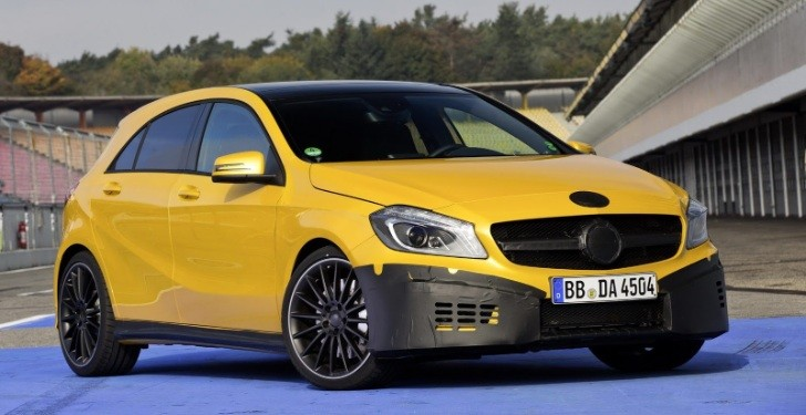 Mercedes A45 AMG Almost Revealed, Has 350 HP