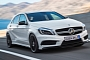 Mercedes A45 AMG Australian Pricing Announced