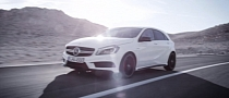 Mercedes A45 AMG is Fast & Loud [Video]