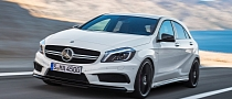 Mercedes A45 AMG Revealed: 360 HP, AWD, 7-Speed [Photo Gallery]