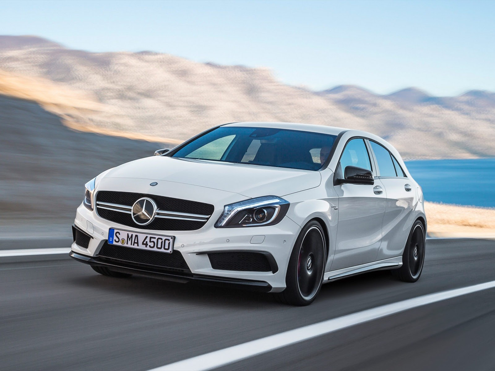 mercedes a45 amg revealed 360 hp awd 7 speed autoevolution. Black Bedroom Furniture Sets. Home Design Ideas