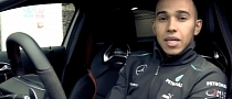 Mercedes A45 AMG Test Drive by Lewis Hamilton [Video]