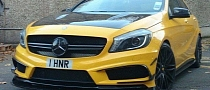 Mercedes A45 AMG with RevoZport Body Kit [Video]