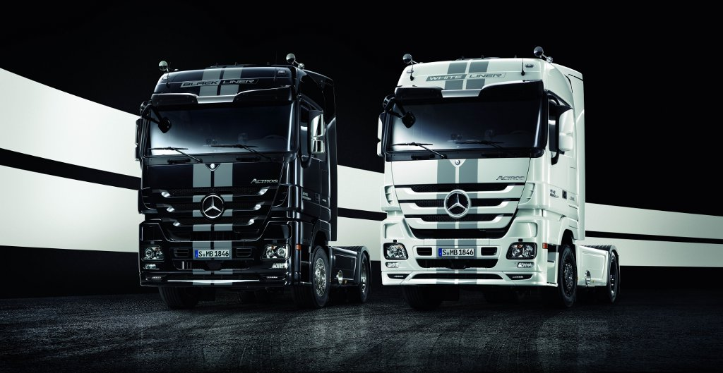mercedes actros edition liner launched autoevolution. Black Bedroom Furniture Sets. Home Design Ideas