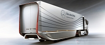 Mercedes Aero Trailer Concept Increases Semi Fuel Efficiency