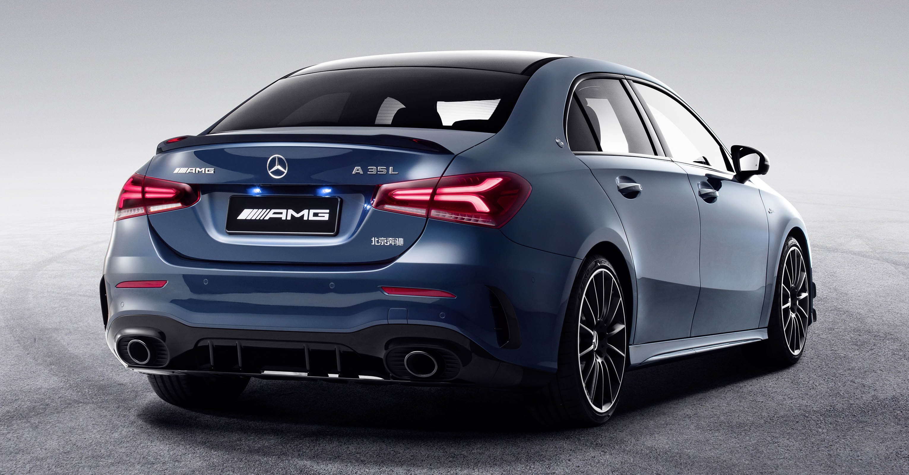 Mercedes Amg A35 L Sedan Is Called Z177 Adds 60mm In China