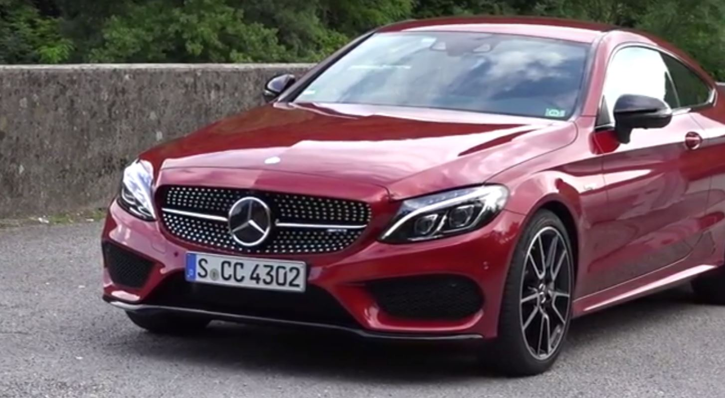 mercedes amg c43 coupe sounds way better than expected autoevolution. Black Bedroom Furniture Sets. Home Design Ideas