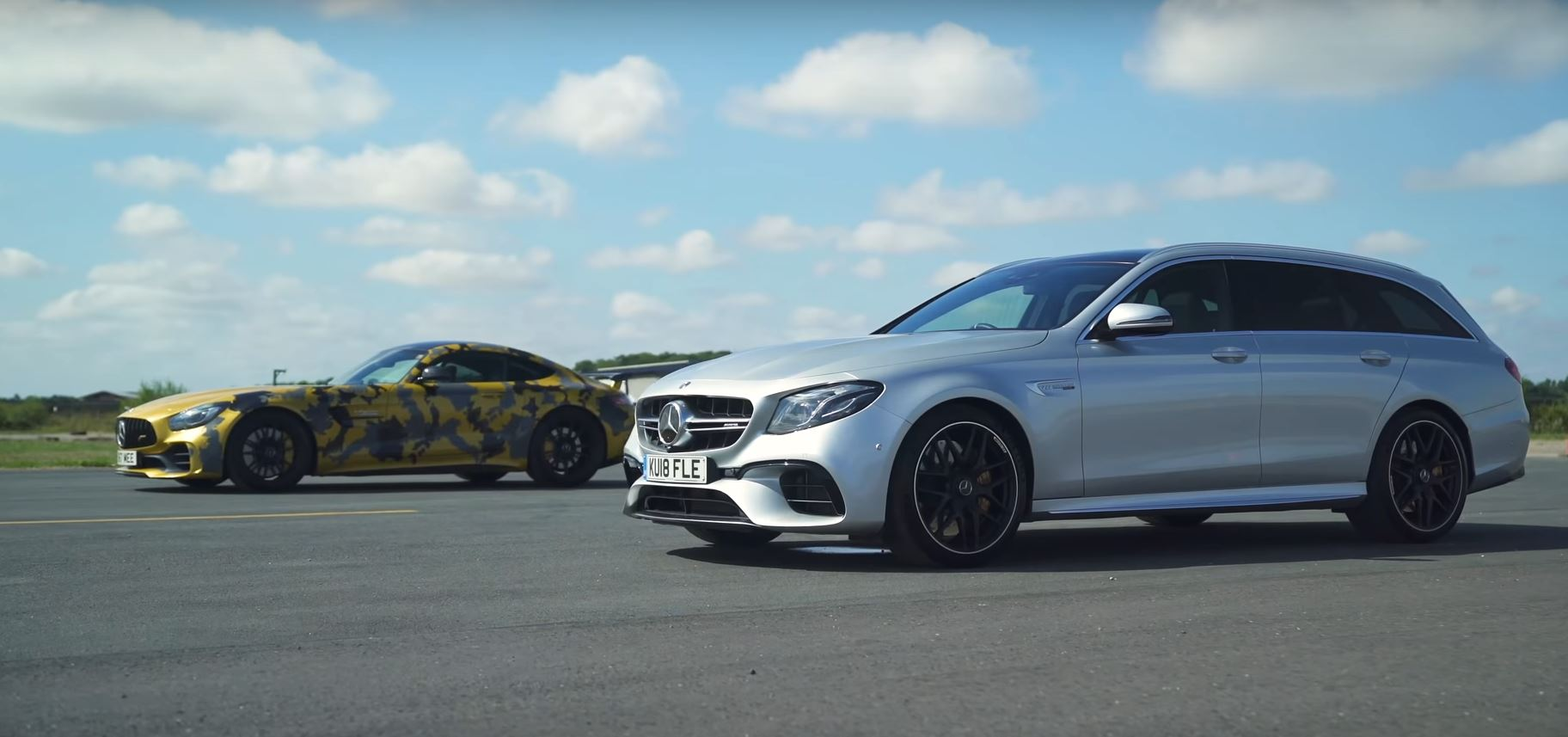 mercedes amg e63 s races amg gt r tuned by renntech. Black Bedroom Furniture Sets. Home Design Ideas