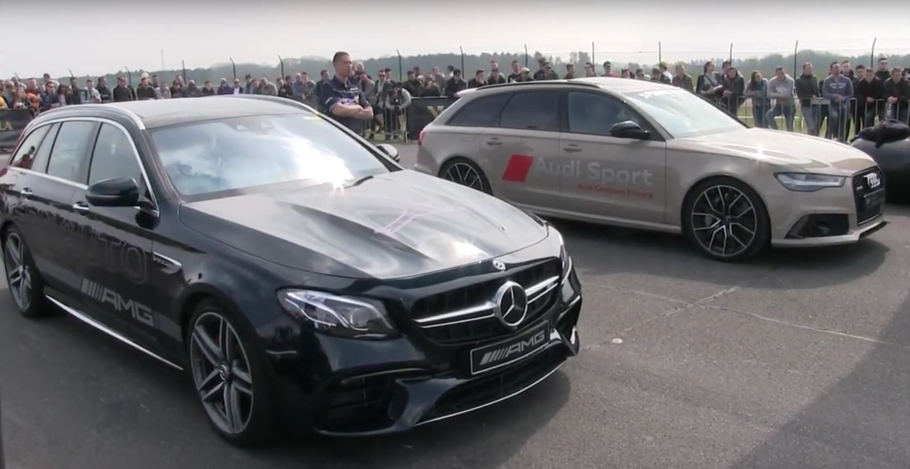mercedes amg e63 s wagon races rs6 m5 and amg gt s autoevolution. Black Bedroom Furniture Sets. Home Design Ideas