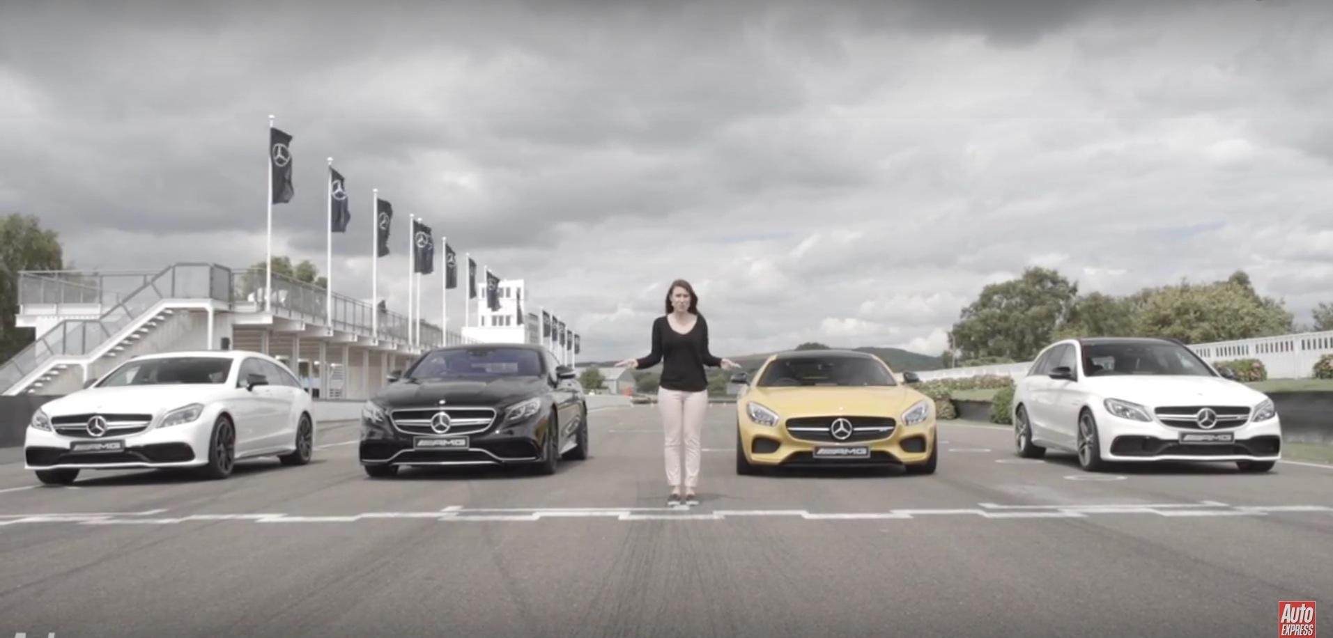 Mercedes Amg Four Way Battle C63 Estate Vs Gt Vs S63
