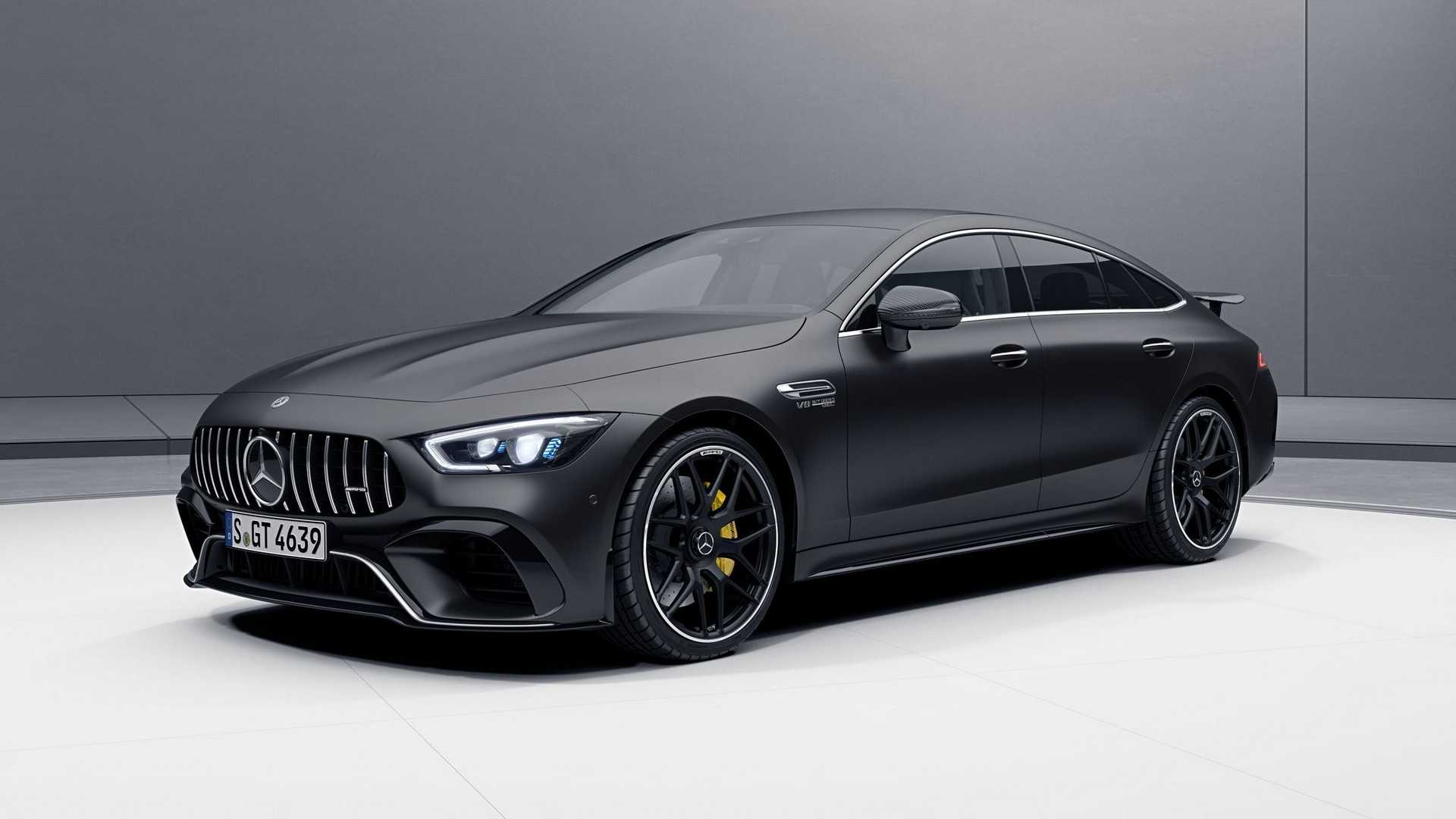 mercedes amg gt 4 door coupe now available with amg aerodynamic package autoevolution. Black Bedroom Furniture Sets. Home Design Ideas